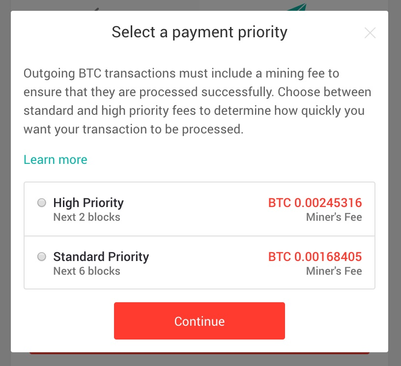 Is there any fee for outgoing transactions from my xapo btc wallet the standard fee is the average fee that most bitcoin transactions are paying at the time whereas the high priority fee is a bit higher so the miners to ccuart Image collections