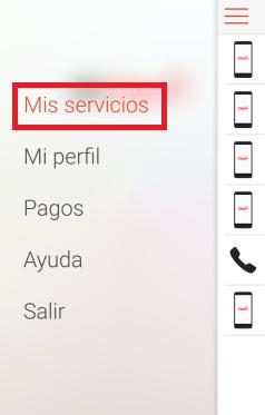Mis servicios Mi Claro