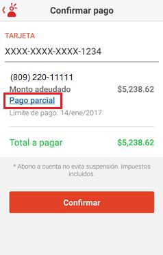 Confirmar pagos Mi Claro