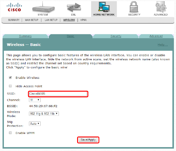 modem Wi-Fi Cisco DDR2201