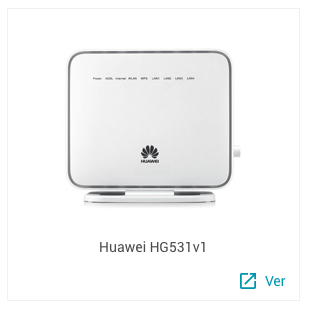 Huawei HG531v1