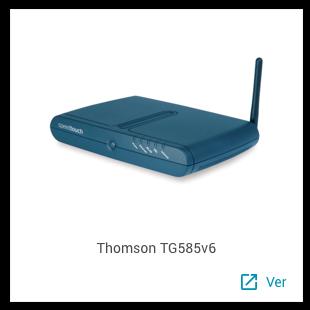 Thomson TG585v6