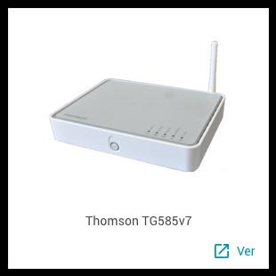 Thomson TG585v7