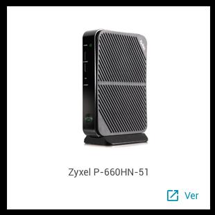 Zyxel P-660HN-51