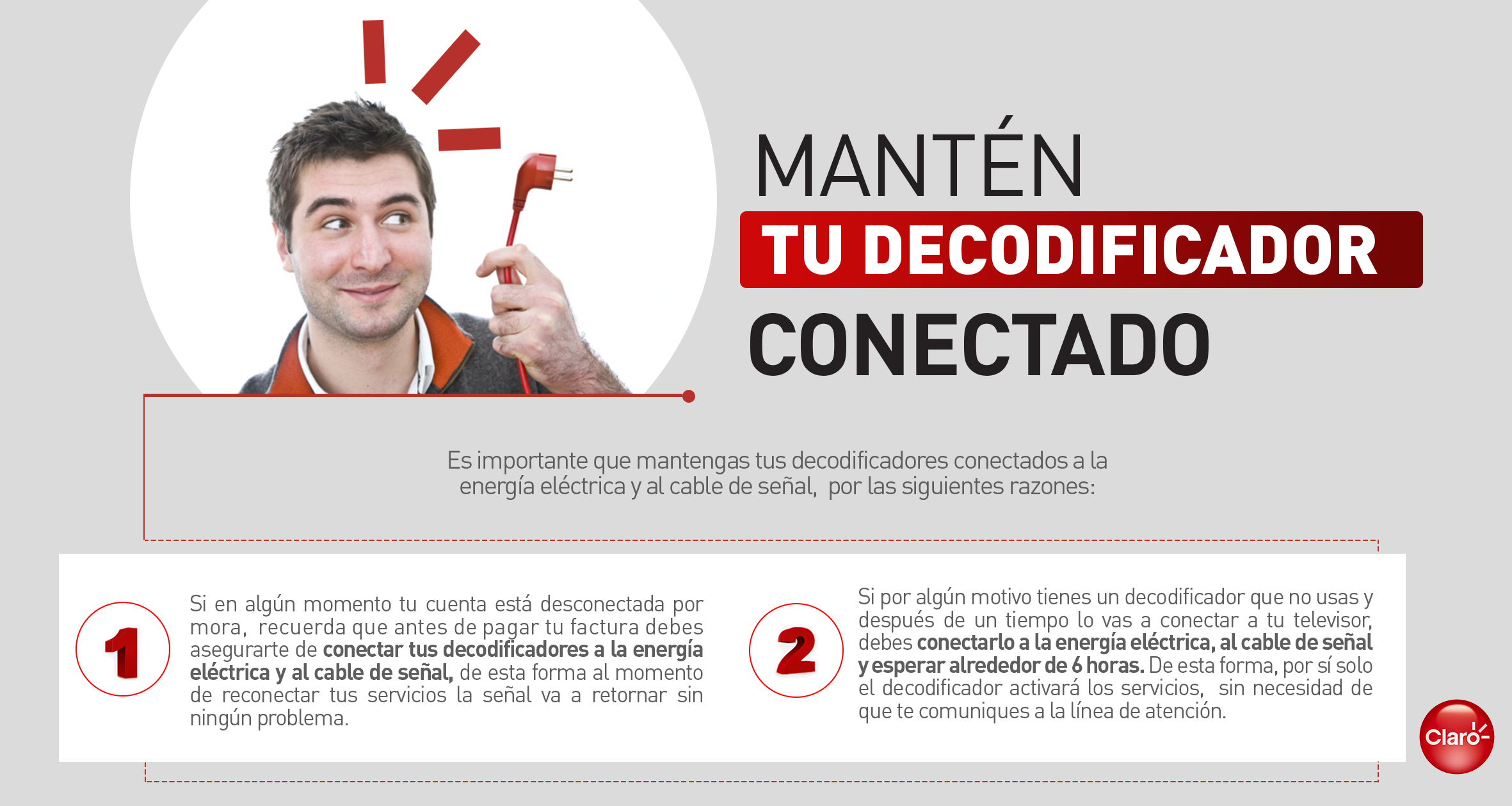 Decodificador Sin Senal Soporte Te Apoyamos A Resolver Tus Dudas Y Problemas Claro Colombia