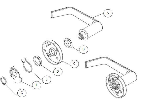 What Is The Part Number For The Lever Return Spring For